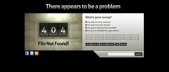 30个创意独特的404错误页面设计