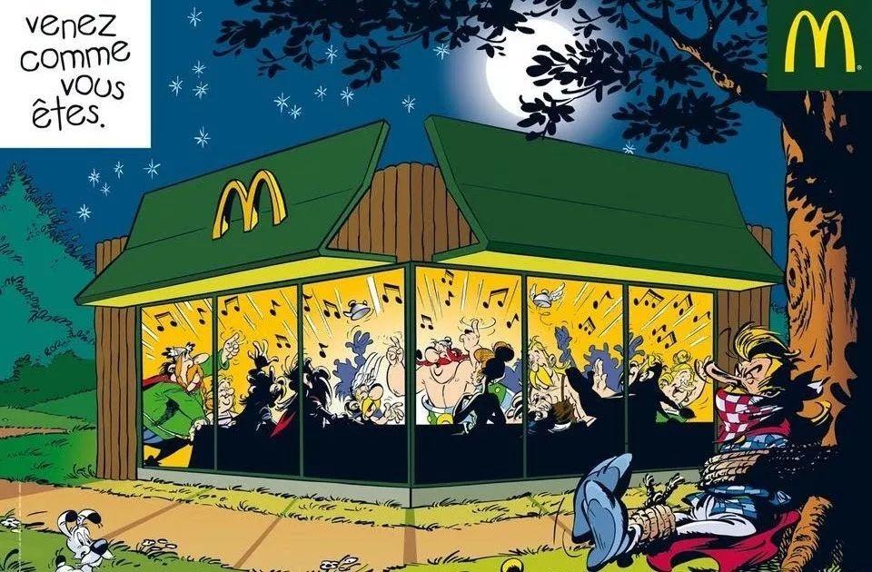 麦当劳在北京开张的那一天