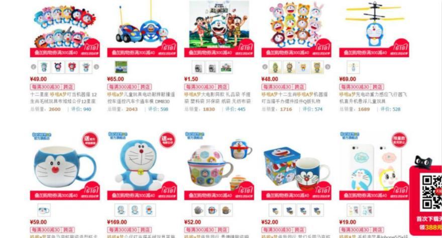 """""""蓝胖子""""的中国之旅:授权产品年销售额近20亿,电影之外衍生品才是""""金银岛"""""""