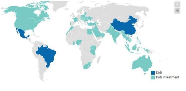 滴滴与Uber全球市场布局分析对比 多个领域激烈竞争