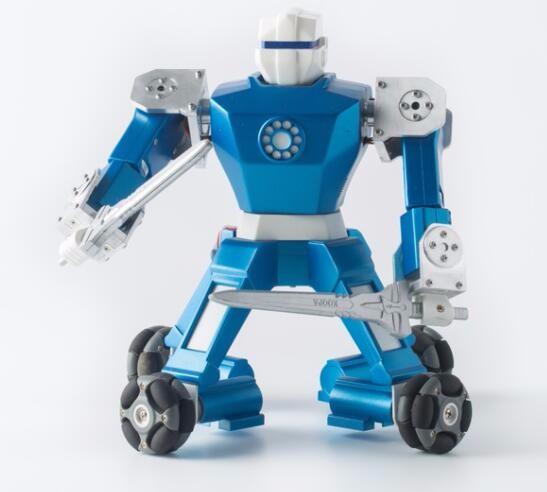 全国首个专业级可运营的格斗竞技机器人项目