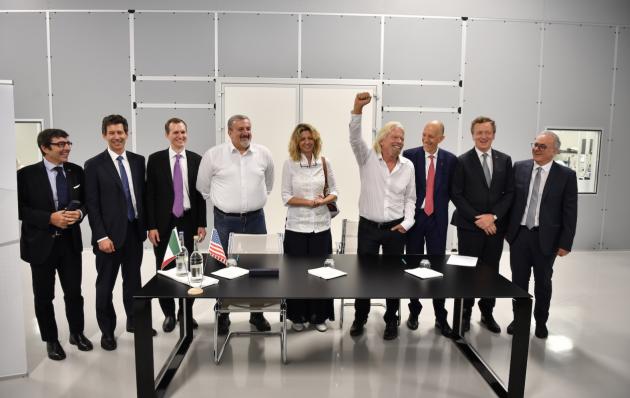 【硅谷】维珍银河宣布联手两家意大利企业,共同开发航空器