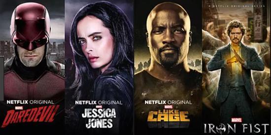 ▲ 这套Netflix的原创漫威剧前途Real尴尬了...